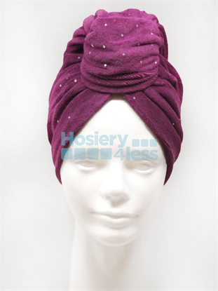 Picture of TERRY TURBAN WITH STUDS