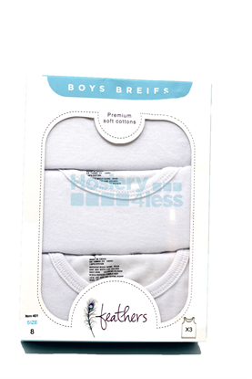 Picture of BOYS 3 PACK UNDERSHIRT