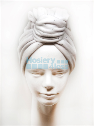 Picture of VELOUR TURBAN WITH STUDS