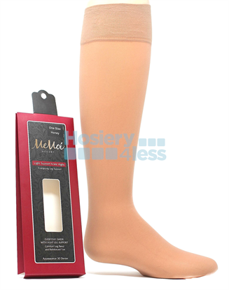 Picture of MEMOI LIGHT SUPPORT KNEE HIGH