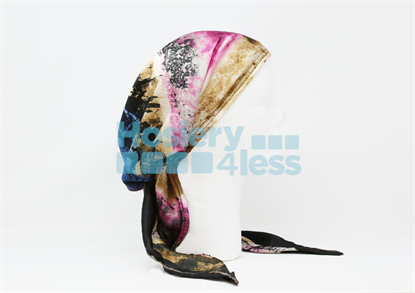 Picture of SILK MARBLE PRINT PRETIED