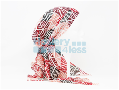 Picture of BRIGHT TRIANGLE PRINT HEADSCARF