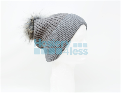 Picture of CHENILLE WINTER HAT WITH POM POM