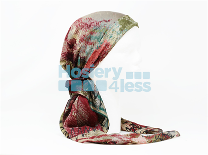 Picture of SPLASH COLOR 1 PRINT HEADSCARF