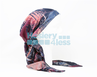 Picture of SWIRL 2 PRINT HEADSCARF