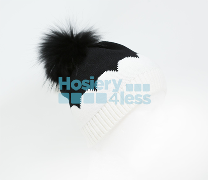 Picture of SCALLOPED POM POM HAT