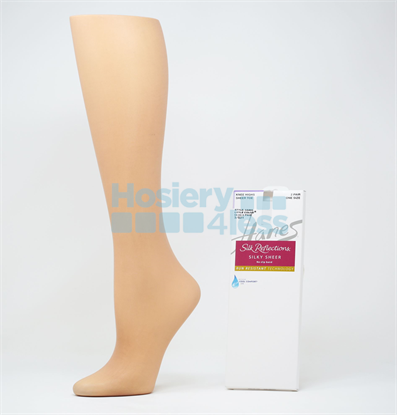 Picture of SILK REFLECTIONS 2P NO SLIP BAND KNEE HIGH
