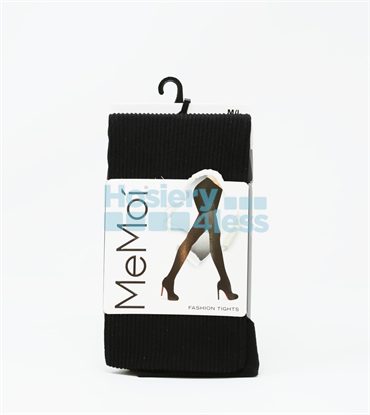 Picture of MEMOI TWIN RIB OPAQUE TIGHTS