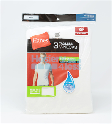 Picture of HANES MENS V-NECK UNDERSHIRT
