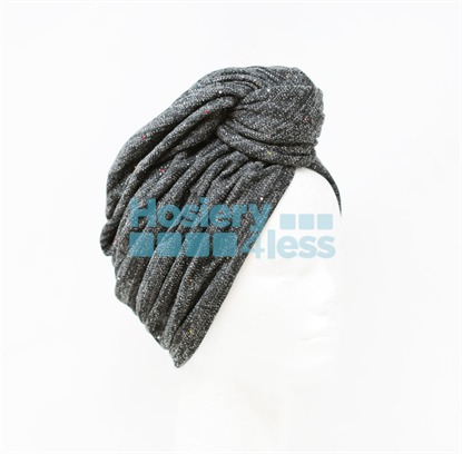 Picture of MIAMI KNIT LUREX LINED TURBANS