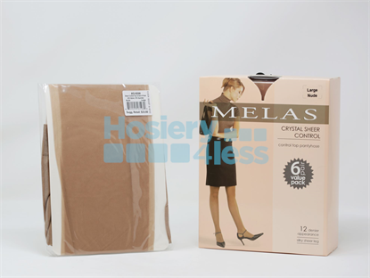 Picture of MELAST 6 PACK SHEER CT PANTYHOSE