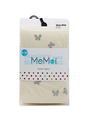 Picture of MEMOI GLITZY BUTTERFLY TIGHTS