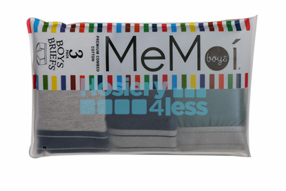 Picture of MEMOI BOYS 3 PACK BRIEFS