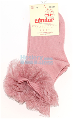 Picture of TULLE FRILL KNEE SOCK