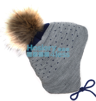Picture of EAR FLAP FUR HAT
