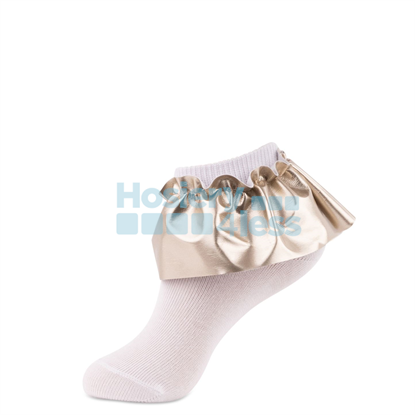Picture of JRP LEATHERETTE LACE ANKLET