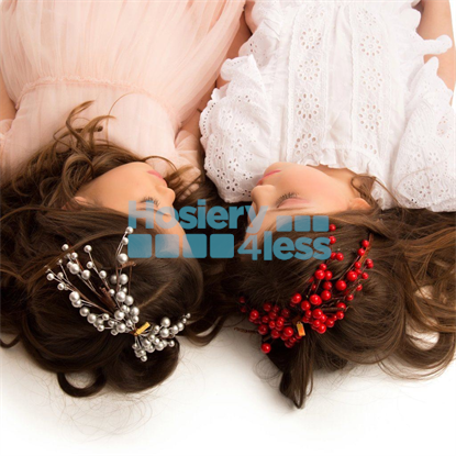 Picture of CHERRY CLUSTER BOW HEADBAND