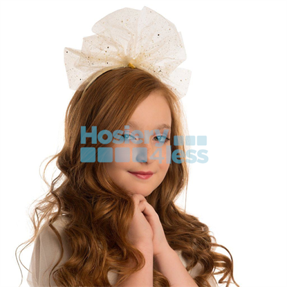 Picture of SPARKLY STIFF TULLE BOW HEADBAND