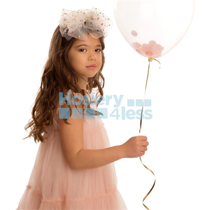 Picture of TULLE BOW PEARLS HEADBAND