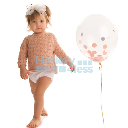 Picture of TULLE BOW PEARLS BABY BAND