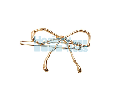 Picture of HEIRLOOMS BOW CLIP GOLD