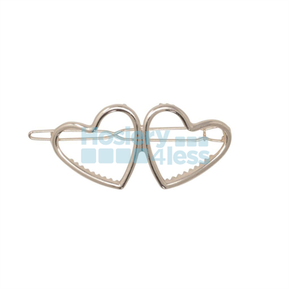 Picture of HEIRLOOMS TWIN HEARTS METAL CLIP