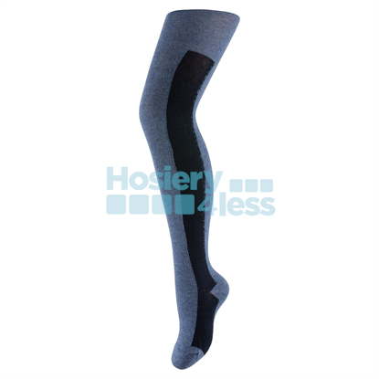 Picture of ZUBII BAR PATTERN TIGHTS