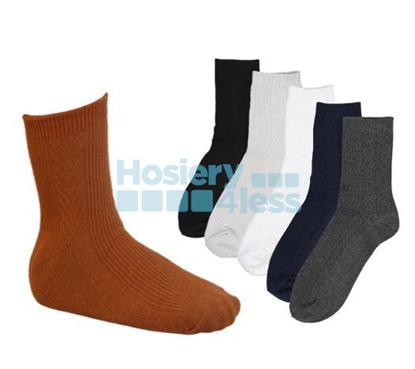 Picture of BLINQ KNIT BRAIDED SOCK