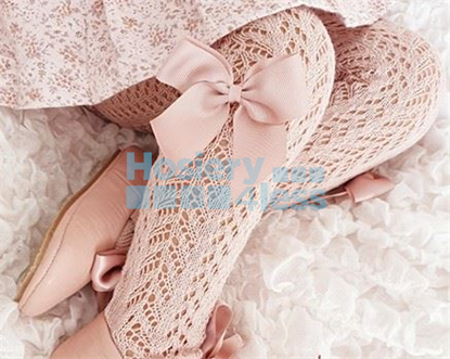 Picture of CONDOR CROCHET TIGHTS GROSGRAIN BOW