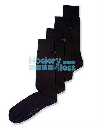 Picture of 4P DRESS CREW SOCKS BLACK