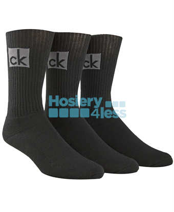 Picture of CK CUSHION SOCK WITH BIG LOGO 3 PK