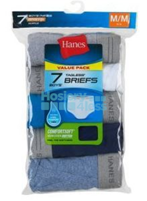 Picture of HANES BOYS COLORED BRIEFS 7 PACK