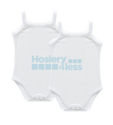 Picture of PC RIBBED BABY ONESIE 2 PACK