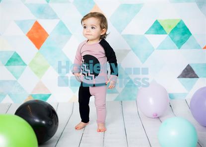 Picture of TEELA CIRCLE CHEVRON BABY SET