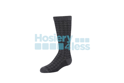 Picture of ZUBII HOUNDSTOOTH TEXTURE KNEE SOCK