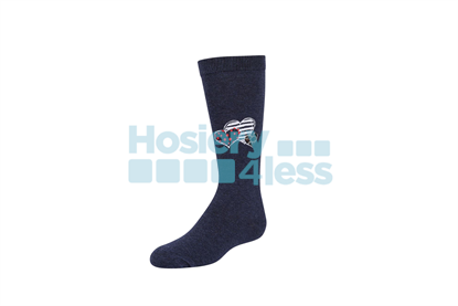 Picture of ZUBII TRI PATTERNED HEART KNEE SOCK