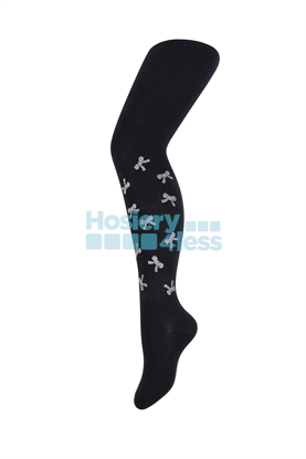 Picture of ZUBII SCATTERED GLITTERED BOWS TIGHTS