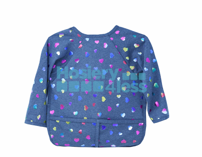 Picture of DACEE FOIL HEARTS APRON