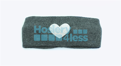 Picture of DACEE KNIT FOIL HEART HEADWRAP