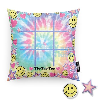 Picture of TIC TAC PILLOW TIE DYE