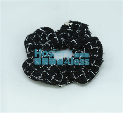 Picture of ARABELLE TWEED LARGE SCRUNCHIE