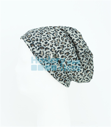 Picture of DACEE SMALL SWEATER LEOPARD BEANIE