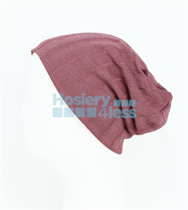 Picture of DACEE RIBBED SHIMMER KNIT BEANIE
