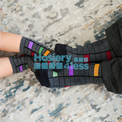 Picture of BLINQ COLORED CUBE SOCK