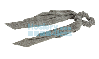 Picture of DACEE HEATHERED KNIT SCRUNCHY WITH TAILS